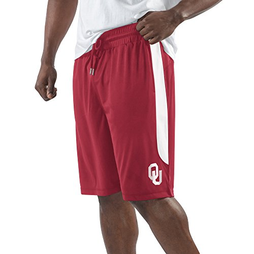 NCAA Oklahoma Sooners Men's Momentum Fashion Short, X-Large, - Sooner Fashion