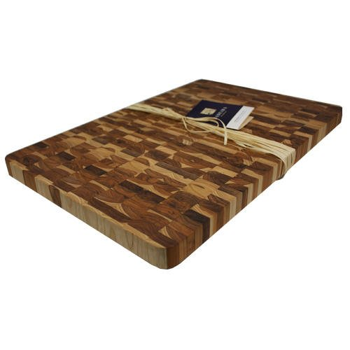 - Madeira Canary Teak End-Grain Chop Block, Jumbo