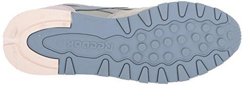 Reebok Women's Cl Lthr Pm Walking Shoe Stark Grey/Shadow/Rain/Quartz/Pale Pink/White cheap sale footaction cheap official wjAjEfD