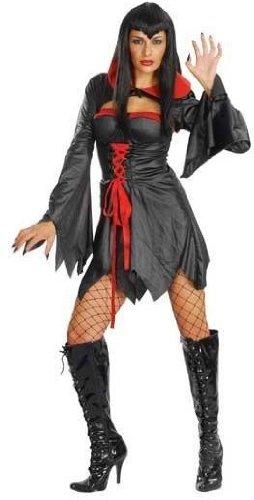Sexy & Sassy Vampiress Costume