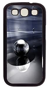 3D Space Ball PC Case Cover For Samsung Galaxy S3 SIII I9300 Black