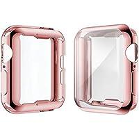 [2-Pack] Julk Case for Apple Watch Series 4 Screen...