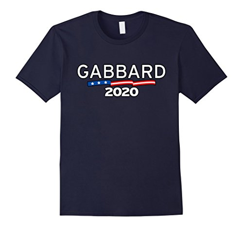 Mens U.S. Representative Tulsi Gabbard for President 2020 Shirt 2XL Navy