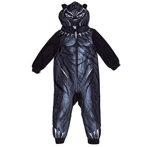 AME Black Panther Little & Big Boys Hooded Blanket Sleeper Pajama