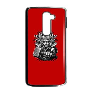 LG G2 Cell Phone Case Black God of Thunder Lusly