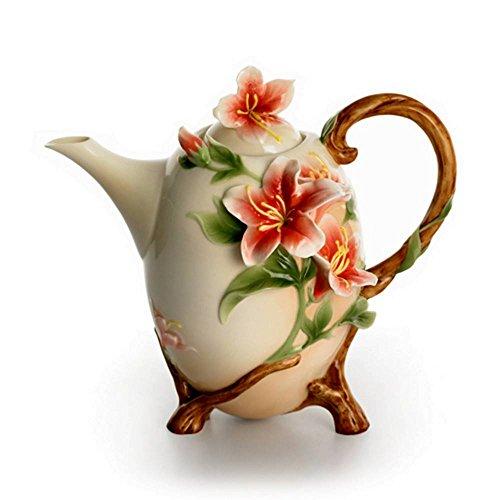 Franz Porcelain Kathy Ireland Azalea Allure Teapot