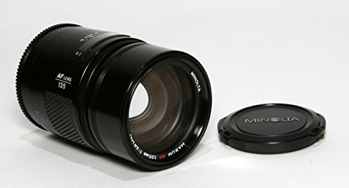 Minolta Md Mount Lens - Minolta Maxxum AF 135mm F/2.8 Prime Lens for Sony Alpha and Minolta A-Mount