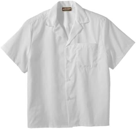 Edwards Easy Care Poplin Camp Shirt