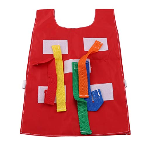 Educational Tactical Cloth Early Kindergarten Thick Kit Joofff Pull Sport Game School Outdoor Tails Kids Toys Oxford Red Vest Waistcoat Equipment 1wxxO7aY