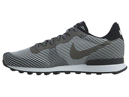 Zapatillas De Deporte Sintéticas Nike Hombres Internationalist Kjcrd M Qs Tobilleras Negras / Negras / Blancas