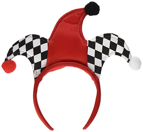 Jester Headbands Party Accessory (1 count) (1/Pkg) (Jester Hat)