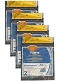 (8) Kenmore Sears Progressive Foam Filter CF1, Progressive & Whispertone, Panasonic Vacuum Cleaners, 86883, 86880, 20-86883, 2086883, 8175084