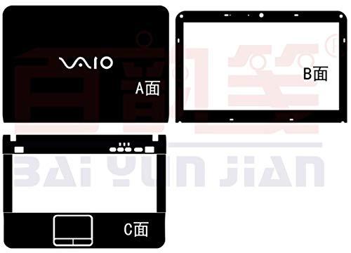 (Special Laptop Black carbon fiber Vinyl Skin Stickers Cover for Sony VAIO VPCEG VPCEG38fa vpceg18fg VPCEG15EH VPCEG12 VPCEG13 VPCEG37 14