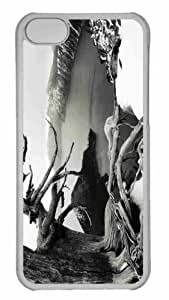 Customized iphone 5C PC Transparent Case - Tree 3 Personalized Cover