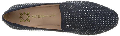 Crys Ms Loafer Petrol Flat D Crystal BCBGeneration Petrol Mujeres Justine RqFPXP