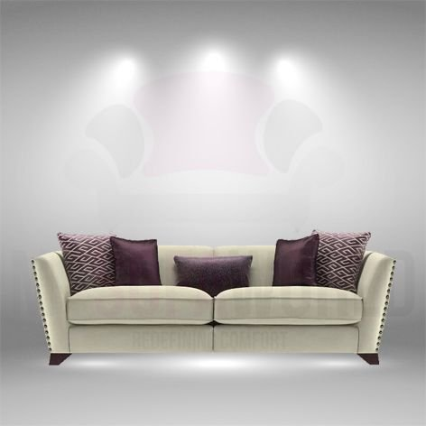 My Sofa World Nazca diseño 4 plazas sofá con Gran Comodidad ...