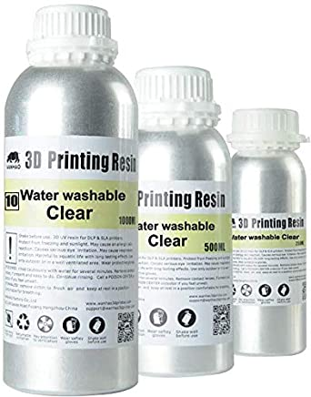 Amazon com: Wanhao UV Cure 3D Printer Water Washable Resin