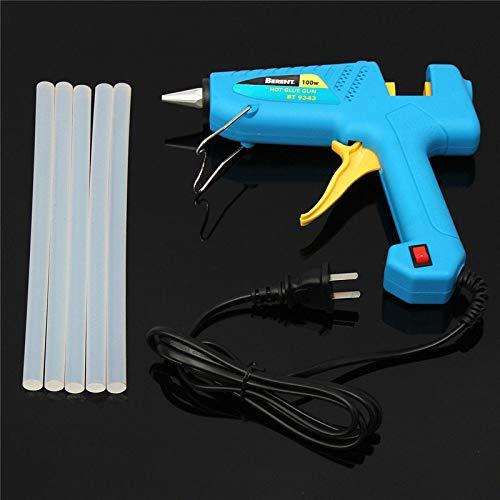 Generic 20/40/60/80 / 100W puissants bÃtons de pistolet de colle de fonte de chauffage Ãlectrique avec des bÃtons de 5Glue
