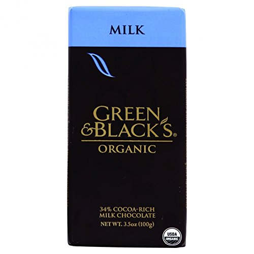 Green & Black's, Organic Milk Chocolate Bar, 34% Cocoa, 3.5 ()