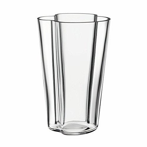 (Iittala Alvar Aalto Collection Glass Vase 220 mm, Clear)