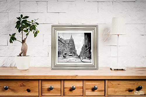 New York Map Company  Photo - Historic Cincinnati, Ohio - Looking Down Elm Street, c1904 |Size: 9x10|Ready to Frame