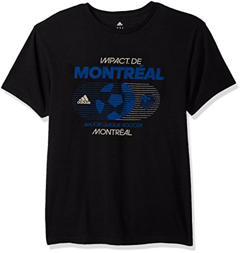 fan products of MLS Impact Montreal Adult Men Soccer World Tri-Blend S/Tee,2X-Large,black