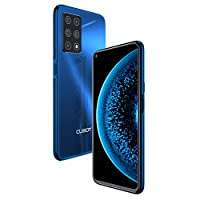CUBOT X30 Unlocked Smartphone (6GB+128GB) with 6.4-Inch FHD+ Display,Five Al Cameras, Android 10, 4200mAh Battery, 4G Dual SIM Phone-Blue