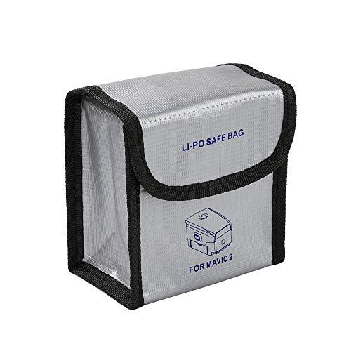 Halloween Hot Sale!!!Fenebort Explosion-Proof Fireproof Guard Safe Battery Storage Bag Cover for DJI Mavic Mavic 2 Pro/Zoom Series