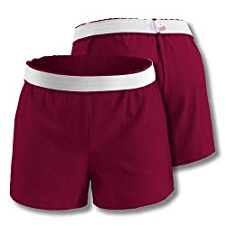 Soffe Athletic Youth Cheer Shorts, Oxford, X-Large