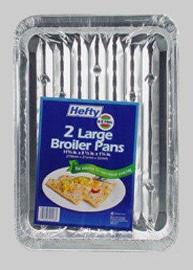 E-Z Foil Super Broiler Pan 11-3/4 X 8-1/2 X1-1/4  ( 2 COUNT PACK OF 12 )