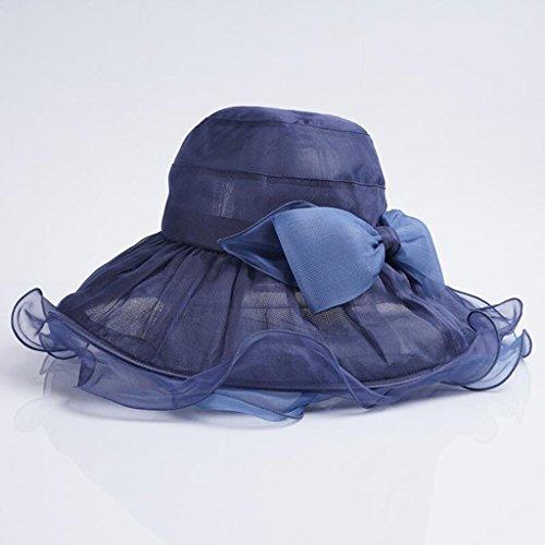 Visor Gran Gorro Ventaja Para Marina Verano Grey Sol El Mujer Viaje Home Playa De Qz Light Elegante color Sombrero Seda vY8q6nWwz