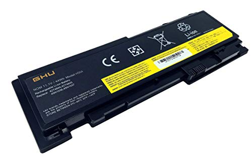 New GHU Battery 81+ Compatible with Lenovo ThinkPad T420s T430s 0A36287 42T4844 42T4845 42T4846 42T4847 45N1036 45N1037 45N1038 45N1039 45N1064 45N1065 45N1143-11.1V 44W 6-Cell,12 Months Warranty (Lenovo Laptop Best Battery Life)