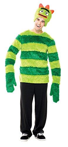 Yo Gabba Gabba Brobee Male Costumes (Paper Magic Group Yo Gabba Gabba Brobee, Green, Large)