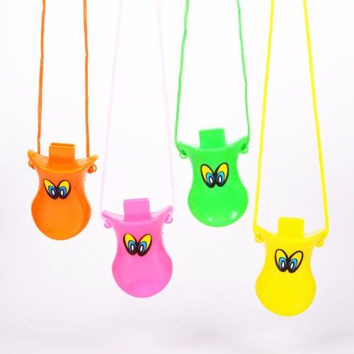 Multicolor Duck Call Whistles Dozen