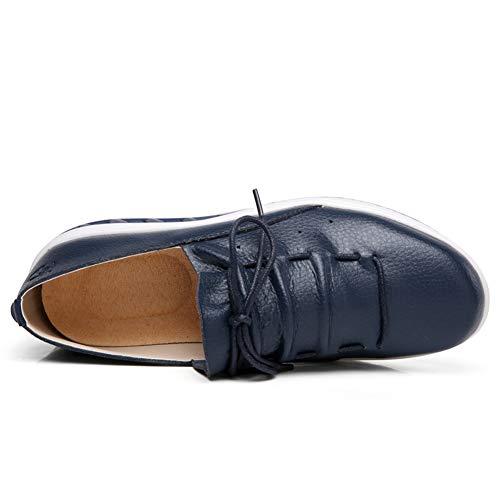 Dimagranti Fitness Traspirante Sportive Glutei Dimagranti lovejin Scarpe Blu Benessere Sneakers Piattaforma Donna Luce xYqzUwfZ