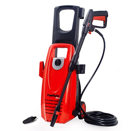 PowRyte Electric Pressure Washer, 2000PSI 1.8GPM Power Washer with Extra Turbo Nozzle, Onboard Detergent Tank