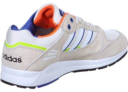 Adidas Tech Super W Schuhe weiß beige blau