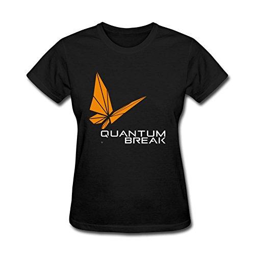 Women's Quantum Break DIY Cotton Short Sleeve T Shirt