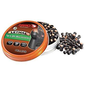 Outletdelocio Modelo 322740 3 latas de 100 perdigones Gamo Lethal 4,5mm Alta precisi/ón