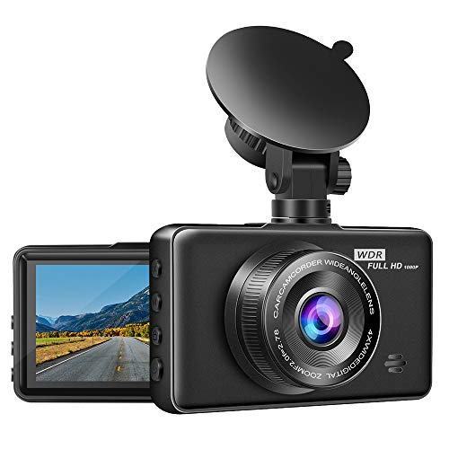 Goluk T1 Wi-Fi Smartphone Connection Mini Car Dash Cam,Dashboard Camera Recorder with FHD 1080P 152 Wide Angle Night Vision,Remote Control Camera