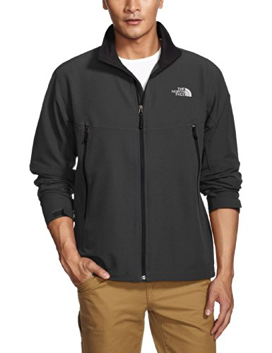 The North Face Men's RDT Softshell Jacket (TNF Black Heather, (North Face Windwall 2 Jacket)