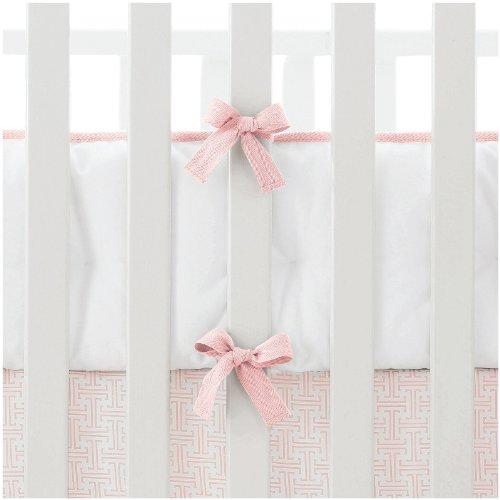 Serena & Lily Nursery Basics Crib Bumper- Shell - Serena & Lily Crib Bumper
