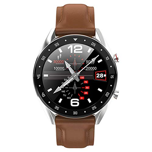 OPTA SB-145 Herculina Bluetooth ECG PPG Fitness Watch| Blood Pressure | Heart Rate | Waterproof |1.3 inch HD Color Screen Fitness Tracker for All Android/iOS