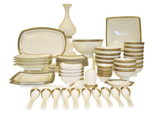Auratic Chinese Dinnerware Set, 52-Piece (Chinese Dinnerware Sets)