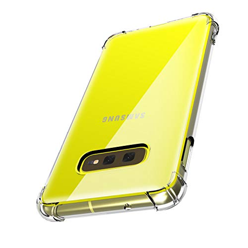 JUSTCOOL Clear Samsung Galaxy S10e Case 5.8 Inch,...