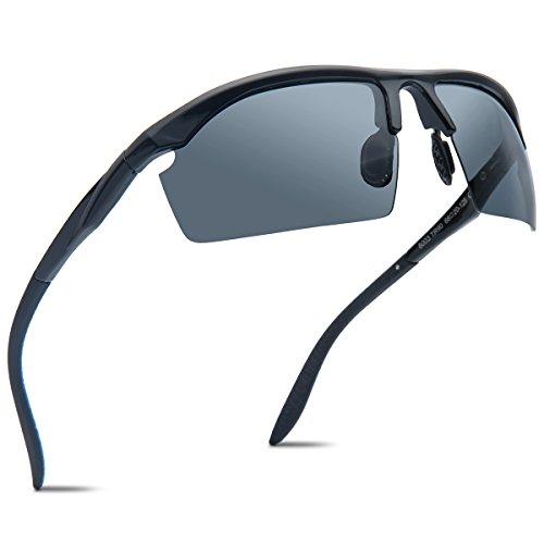 Joopin+TR90+Men+Polarized+Sunglasses+Brand+Outdoor+Sport+Driving+Sun+Glasses%28Black%29