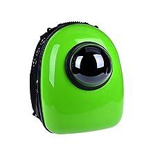 SmileyEU Pet Dog Outdoor Space Capsule Shoulder Bag Puppy Cat Outside Breathable Capsule Backpack Portable Sling Travel Carrier