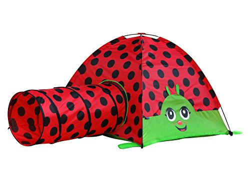 Giga Tent Lily the Lady Bug Play - Play Ladybug Tent