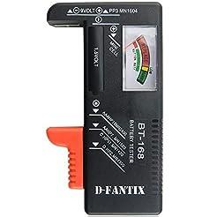 D-FantiX Battery Tester, Universal Batte...