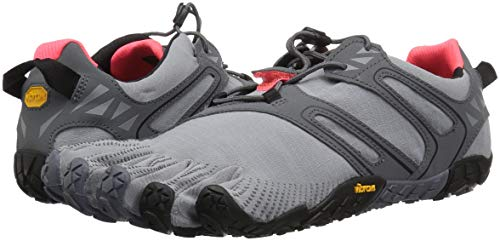 Vibram Women's V Trail Runner Grey/Black/Orange 37 EU/6.5 M US by Vibram (Image #6)